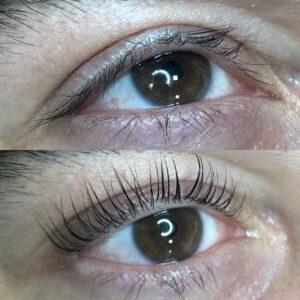 Wimper Lifting Behandeling Resultaat - Skins Beautysalon Sint-Niklaas